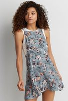 American Eagle Outfitters AE Printed Apron Dress