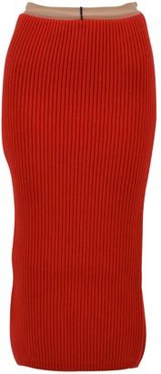 Calvin Klein Rib-knit Midi Skirt