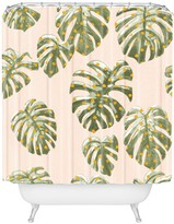 Deny Designs Dash And Ash Palm Oasis Shower Curtain