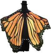 Shinekoo Women's Butterfly printing Chiffon Sarong Wrap Beach Cover Up Sun Dress