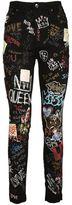 Dolce & Gabbana Graffiti Jeans