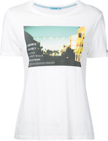 GUILD PRIME graphic print T-shirt - women - Cotton/Rayon - 34