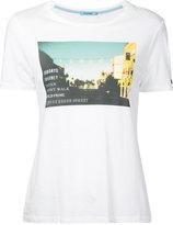 GUILD PRIME graphic print T-shirt - women - Cotton/Rayon - 36