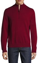 Brooks Brothers BLNK Merino Half Zip Sweater