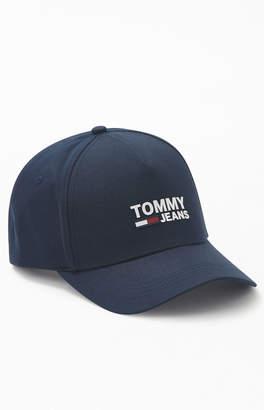 Tommy Jeans Logo Snapback Hat