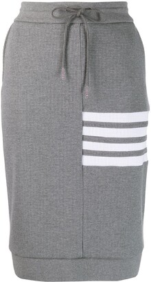 Thom Browne 4-Bar stripe skirt