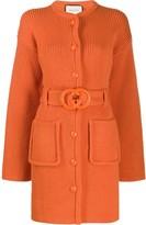 Gucci interlocking G belted cardi-coat