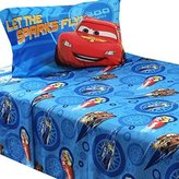 Disney 3pc Twin Bed Sheet Set Lightning McQueen City Limits Bedding Accessories