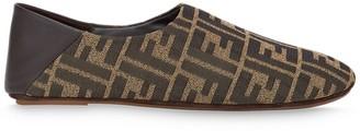 Fendi FF motif slippers