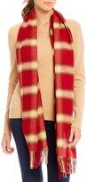 Fraas Plaid Flannel Blanket Wrap