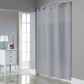 Hookless Satin Stripe Shower Curtain & Liner