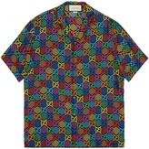 Gucci GG Psychedelic print bowling shirt