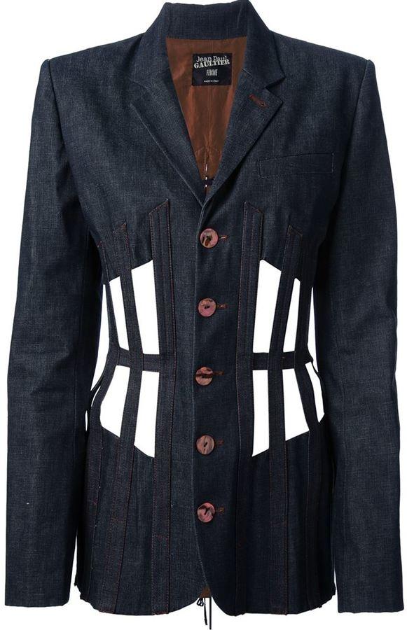 Jean Paul Gaultier Vintage cage jacket