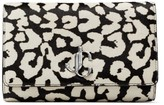 Jimmy Choo Leather Printed Varenne Clutch Bag