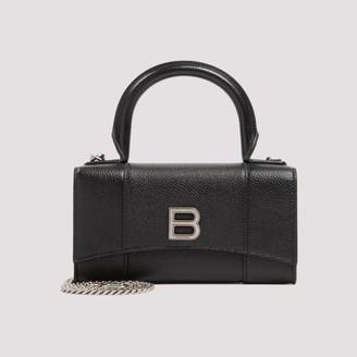 Balenciaga B Top Handle Crossbody Bag