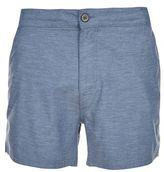 Burton Mens Light Blue Marl Swim Shorts