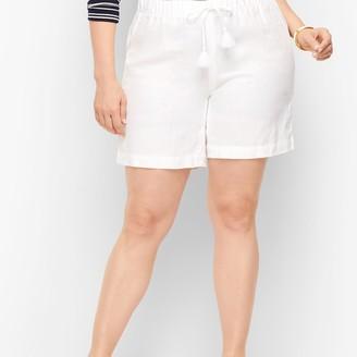 "Talbots Linen Shorts - 6"" - Solid"