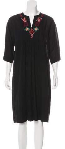 Giada Forte Embroidered Shift Dress w/ Tags
