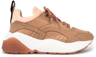 Stella McCartney Eclypse Lace Sneakers in Nude & Misty | FWRD