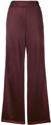 T By Alexander Wang Side Button Stripe Trousers