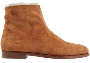 Mansur Gavriel Shearling Ankle Boots