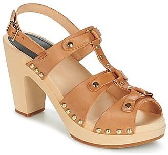 Swedish Hasbeens BRASSY women's Sandals in Brown