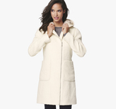 Johnston & Murphy Faux Fur Hooded Coat
