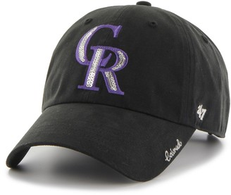 '47 Women's Colorado Rockies Sparkle Adjustable Cap