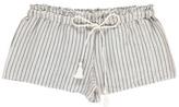 Polder Sale - Pretty Striped Linen Shorts