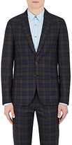 Paul Smith Men's Soho Plaid Wool-Silk Two-Button Sportcoat