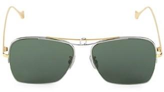 Loewe 56MM Square Aviator Sunglasses