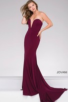 Jovani Strapless Sweetheart Fitted Prom Dress 42842