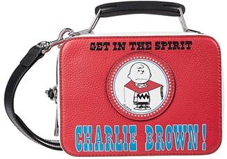 Marc Jacobs The Box 20 Peanuts Americana (Red Multi) Satchel Handbags