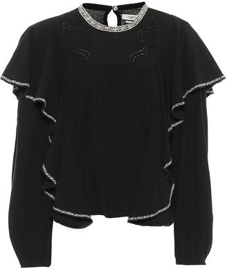 Etoile Isabel Marant Rayani cotton blouse