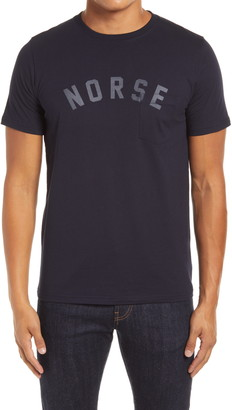 Norse Projects Norse Project Niels Ivy Logo Men's Pocket Graphic Tee