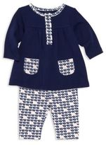 Offspring Baby's Two-Piece Elephant Tunic & Leggings Set