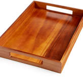 The Cellar Acacia Rectangle Handled Tray
