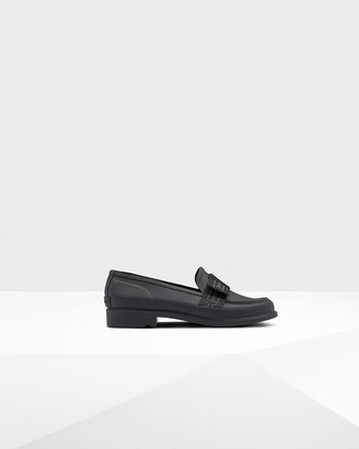 Hunter Women's Refined Slim Fit Bow Penny Loafers