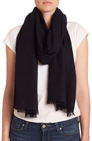 Lord & Taylor Oversize Wool and Cashmere Wrap Scarf