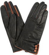 Jendi NEW Leather Gloves Black/Tan Large