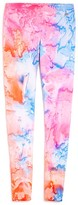 Butter Shoes Girls' Tie Dye Leggings - Little Kid