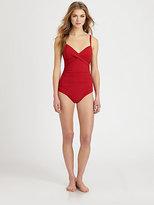 Karla Colletto Swim One-Piece Molded Swimsuit