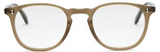 Garrett Leight Kinney Acetate And Stainless-steel Glasses - Beige