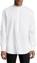 BLK DNM 8 Mandarin Collar Sportshirt