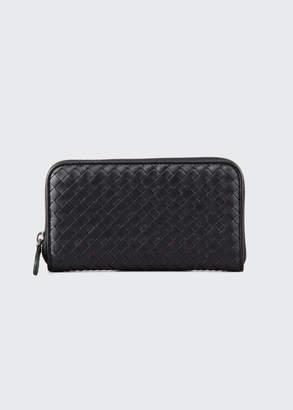 Bottega Veneta Continental Zip-Around Wallet