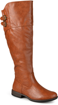Journee Collection Chestnut Tori Extra Wide-Calf Riding Boot