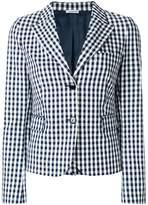 P.A.R.O.S.H. checked blazer