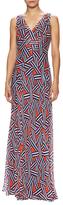 Diane von Furstenberg Dita Silk Chiffon Maxi Dress