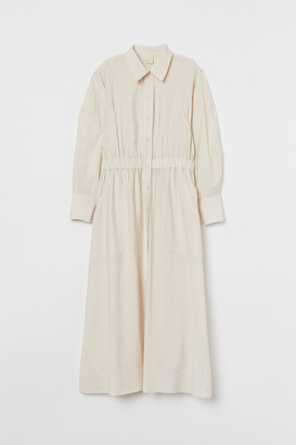 H&M Lyocell-blend shirt dress