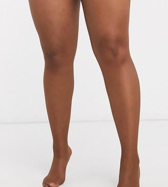 Nubian Skin 15 Denier Nude Tights In Dark